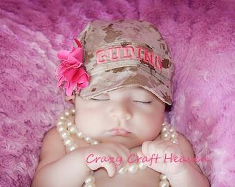 U.s. Marines hat, Military cap, Baby military Baby hat