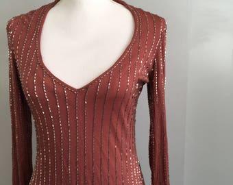 Vintage John Kloss Beaded Dress