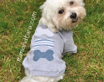 Small Dog Sweater Pattern Size XS, Dog Clothes, Dog Clothes Pattern, Sewing Pattern, Dog Tshirt, Dog Sweaters