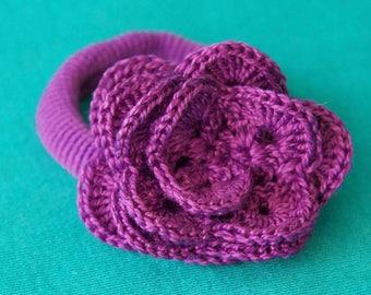 flower ponytail holder