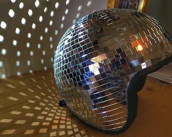 Disco Ball Helmet XL