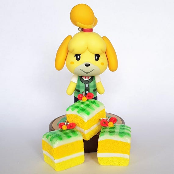 Isabelle Inspired Cake Charms Animal Crossing New Leaf