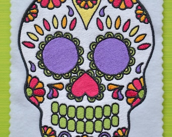 Day of the Dead, Dia de Los Muertos, INSTANT DOWNLOAD, Embroidery Design for Machine Embroidery 5x7