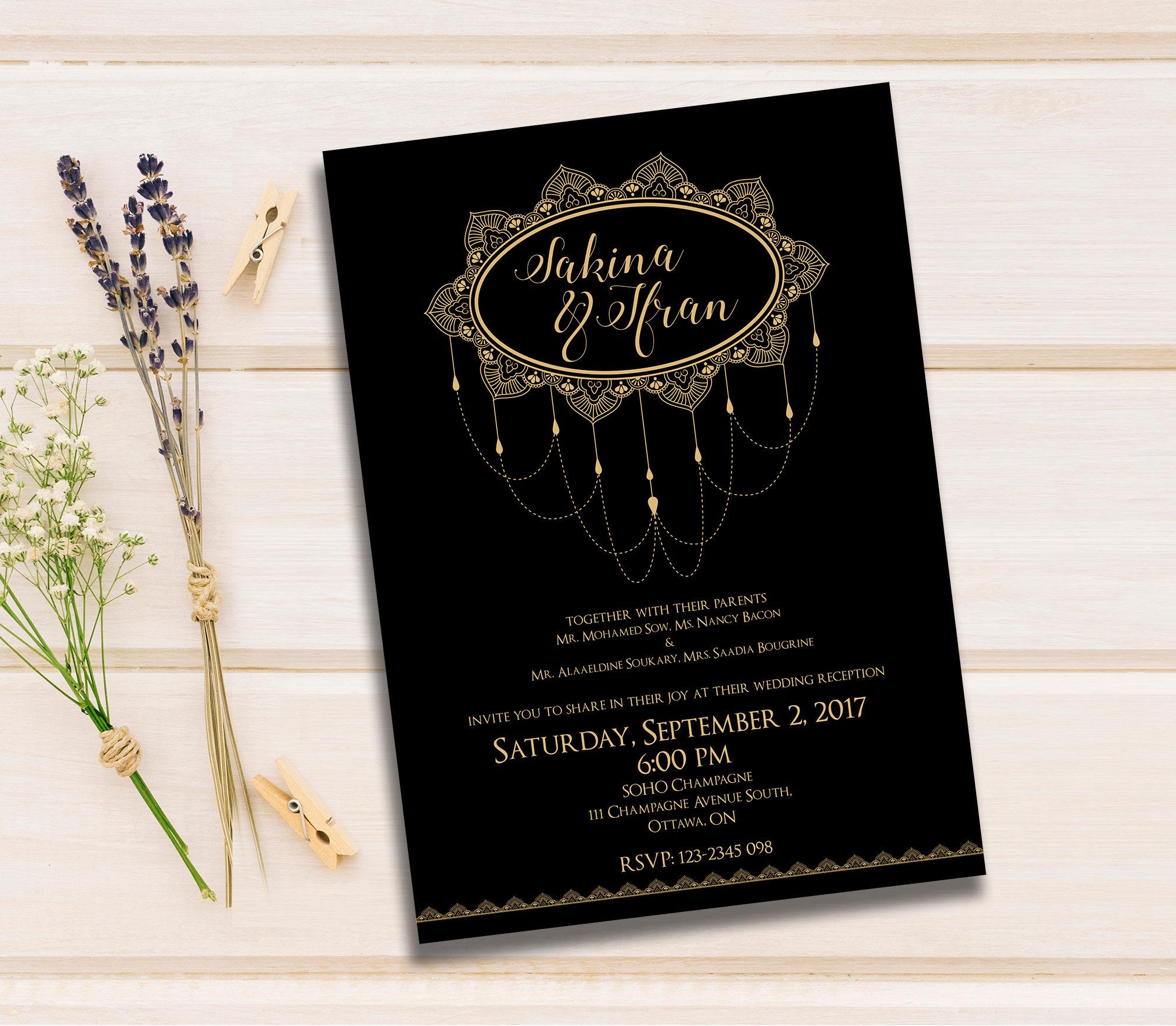 Wedding Invitations Custom Invitation Wedding invitation