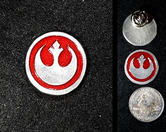 Hand Cast Rebel Lapel Pin or Magnet