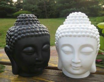 Essential Oil Burner || Aromatherapy || Buddha Statue Diffuser || White Ceramic Diffuser || Tea Light Diffuser || Graduation Gift ||