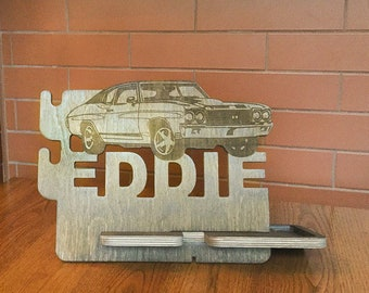 Car birthday decorations, Car personalized gift, car guy gift, car interior, car party, men birthday anniversary gifts, men docking station