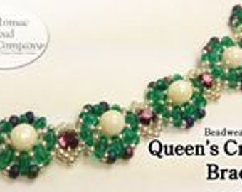 Queen's Crown Bracelet (Pattern)
