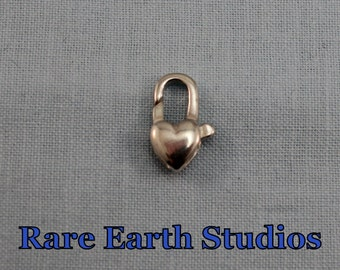 Sterling Silver Heart Lobster Clasp 14x7mm 60315043