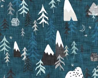 Mountain Lovey. Mountiain Lovey. Cloud Blanket. Baby Blanket. Lovey. Mini Baby Blanket. Security Blanket. Lovie. Minky Lovey