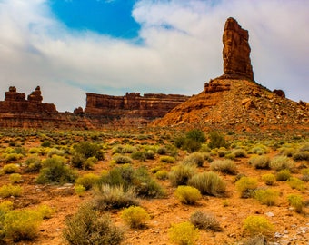 Valley of the Gods, Utah, Printable Photography Instant Digital Download