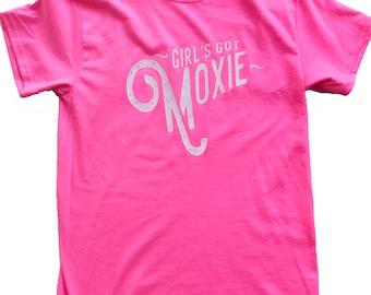 Girl's Got Moxie  T-Shirt