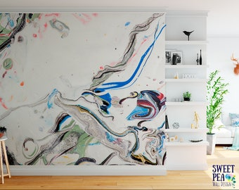 Marseille modern wall mural abstract removable wallpaper