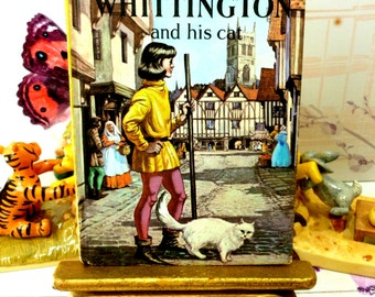 Dick Whittington and his Cat Well Loved Tales Vintage LadyBird Book 606D 1st Ed Matt Cover Mayor of London