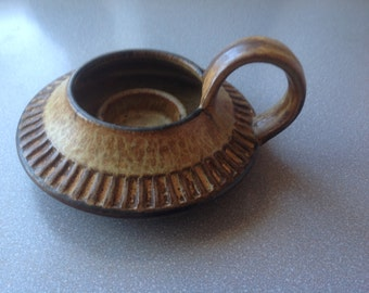 Vintage Danish Denmark soholm candle holder