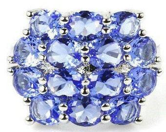 SALE Tanzanite Gemstone Ladies Ring, Free Shipping.