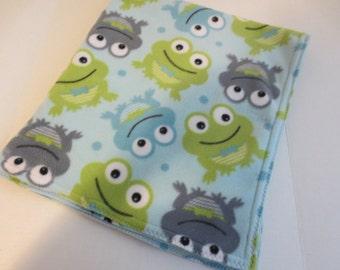 Froggie Blanket  B749