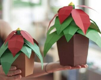 Christmas Star - DIY Papercraft Kit