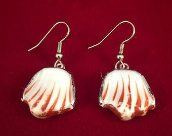 Broken China earrings - #20,080