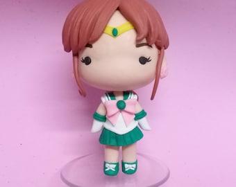 Sailor Jupiter Handmade Figure (Sailor Moon)