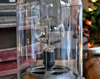 GLASS DOME - 8X12 - Steampunk Glass Case - Collectible Dome