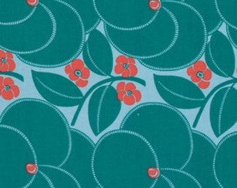 Ami Butler Hapi Quilt cottons collection Heart Bloom in Pine PWAB123-PINEX fabric