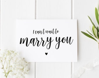I Can't Wait To Marry You Card, Preety See You At Altar Card, Groom Wedding Day Card, Bride Wedding Day Card, Card For Groom, Card For Bride