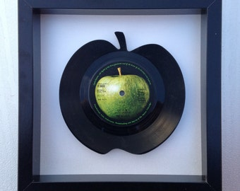 Apple 'Hey Jude' Vinyl Record Art