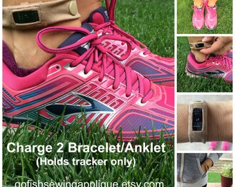 Fitbit Charge 2 band, Charge 2 bracelet, Charge 2 anklet, Charge 2 sleep band, Fitbit Sleep band, Custom Size, Fitbit Wearable Tech