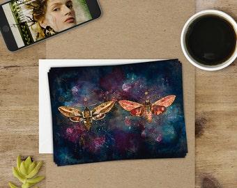 Original postcard - Psykhes: metamorphosis 14