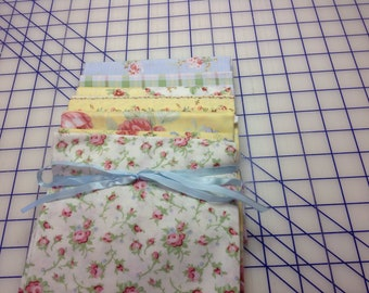 Regency Rose by Laurie Bird for Windham and Rose Cottage fabrics.  Half yard bundle