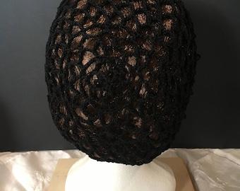 Hand crocheted snood
