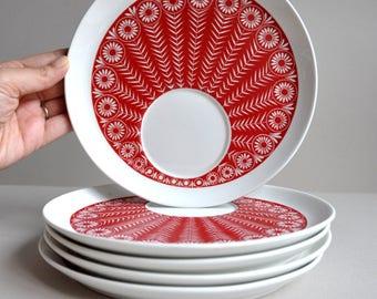 Riikinkukko Snack Plates - Arabia Finland - Choice of 5