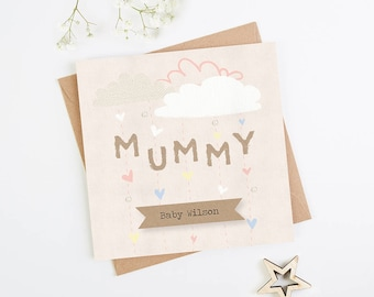 Personalised Mummy Baby Shower Card