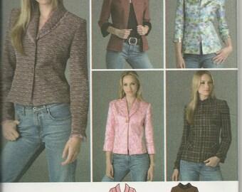 Simplicity 4363    Misses/Petites   Jackets   Size 14-22   Uncut