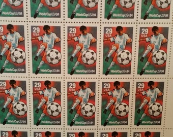 U.S. Postage Stamps World Cup Soccer