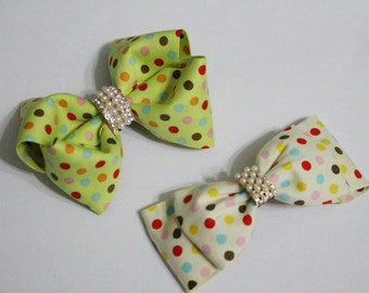 ribbon hair clip / baby headband / infant headband /toddler headband / girls headband / ribbon bow headband