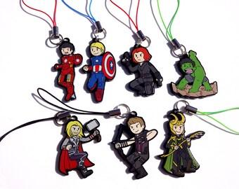 Avengers Acrylic Charms - Marvel