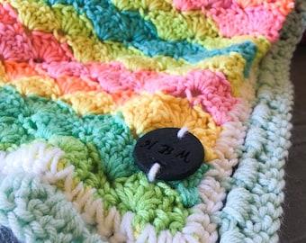 Weighted Afghan; Baby Blanket; Crochet Lap Blanket; Pressure Blanket