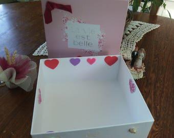 Wedding special cardboard box