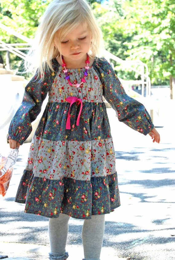 Astra Peasant Dress Pattern + Free Mother-Daughter Apron Pattern ...