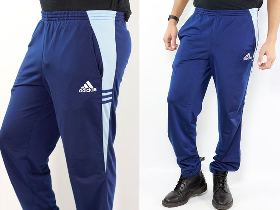 Pants Adidas Blue Adidas Pants 80s Sport Pants Vintage Joggers 80s Adidas ADIDAS Track Pants Track Pants Adidas Vintage Adidas Pants Sports