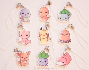 Pokemon Charms