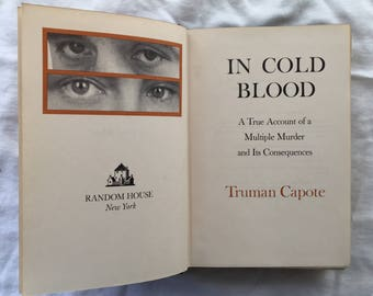 Truman Capote's In Cold Blood 1st Edition