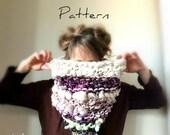 Knitting Pattern for Bulky Knit Cowl Yospun