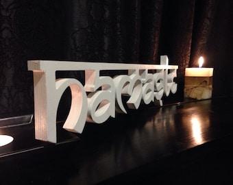 Sanskrit - namaste sign - hello wood Sign - Yoga Studio Decor - Yoga Home Decor