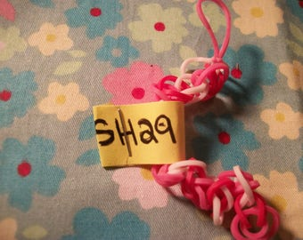 SH29 Valentine's Day Rubber Band Keychain