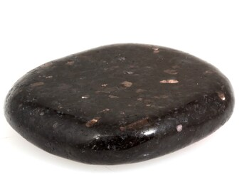 Nuumite (Anthophyllite) Palmstone from Grenland, Reiki Healing Crystal