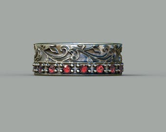Wedding ring Engagement ring Amethyst ring Garnet ring Peridot ring Citrine ring Ruby ring Sapphire ring Tanzanite ring Emerald ring  OPA2