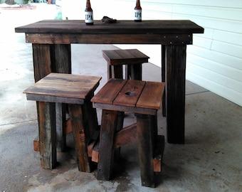 Redwood Pub Table